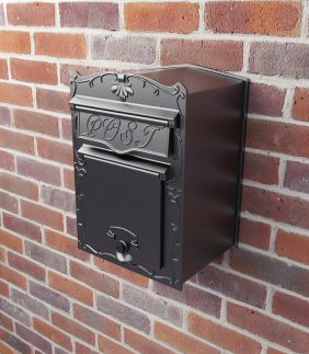 letter boxes for mounting onto walls
