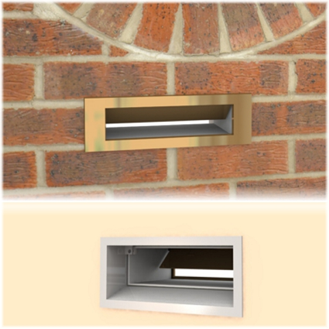 Orwell Letter Box With Chute For Mail Deliveries Ideal For