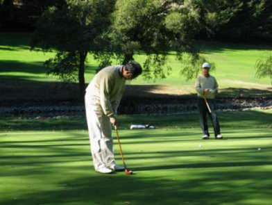 Nappa Valley Hickory golf club competition